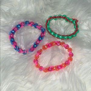 3 pack of bracelets